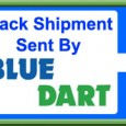 Blue dart tracking