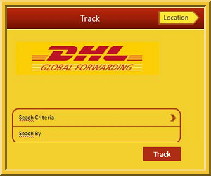 DHL courier tracking details