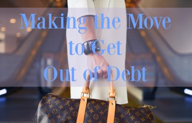 Moving out of debt