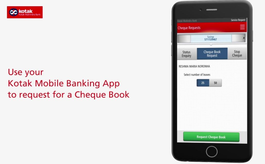 kotak-mahindra-bank-cheque-book-online