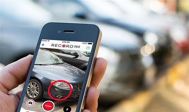 Car Inspection Through An App Works In Car Insurance