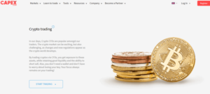 CAPEX.com crypto CFD trading