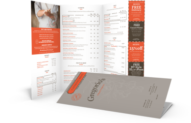 Menu Mailers Can Benefit Your Business